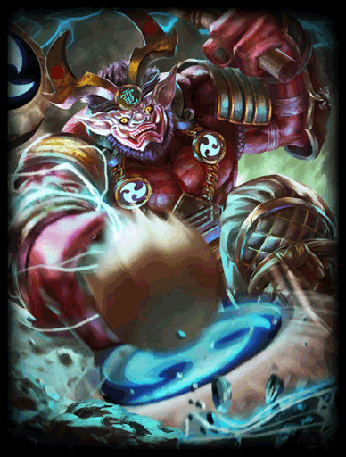 Smite God Raijin