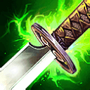 Smite Items: Stone Cutting Sword