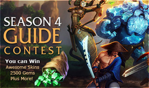 Season 4 Guide Contest - Write, Vote, or Comment to Win!