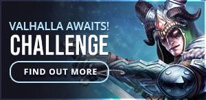Weekly Challenge #34 - Valhalla Awaits!