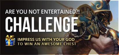 SMITEFire Weekly Challenge #8 - Are You Not Entertained?!