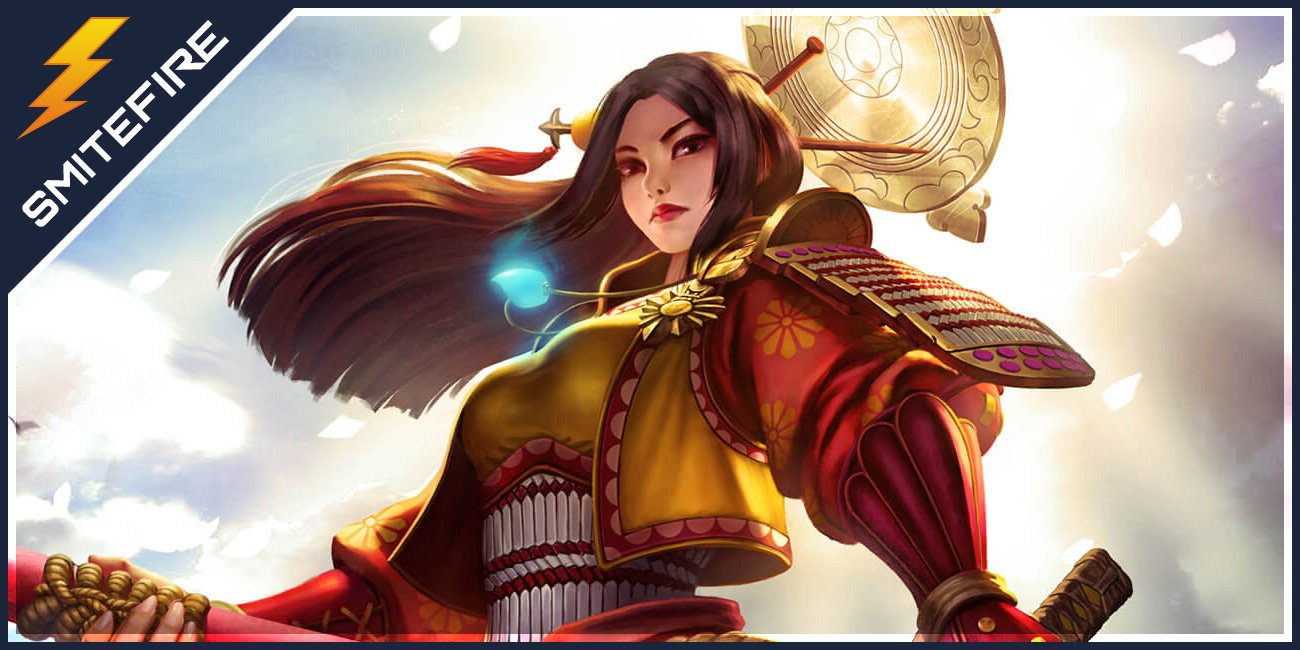 Amaterasu Smite Gods Guides On Smitefire
