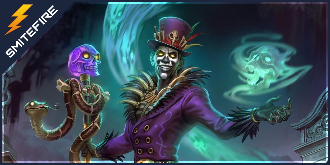 Smite Baron Samedi Build Guide Dont Stop Partying Smitefire