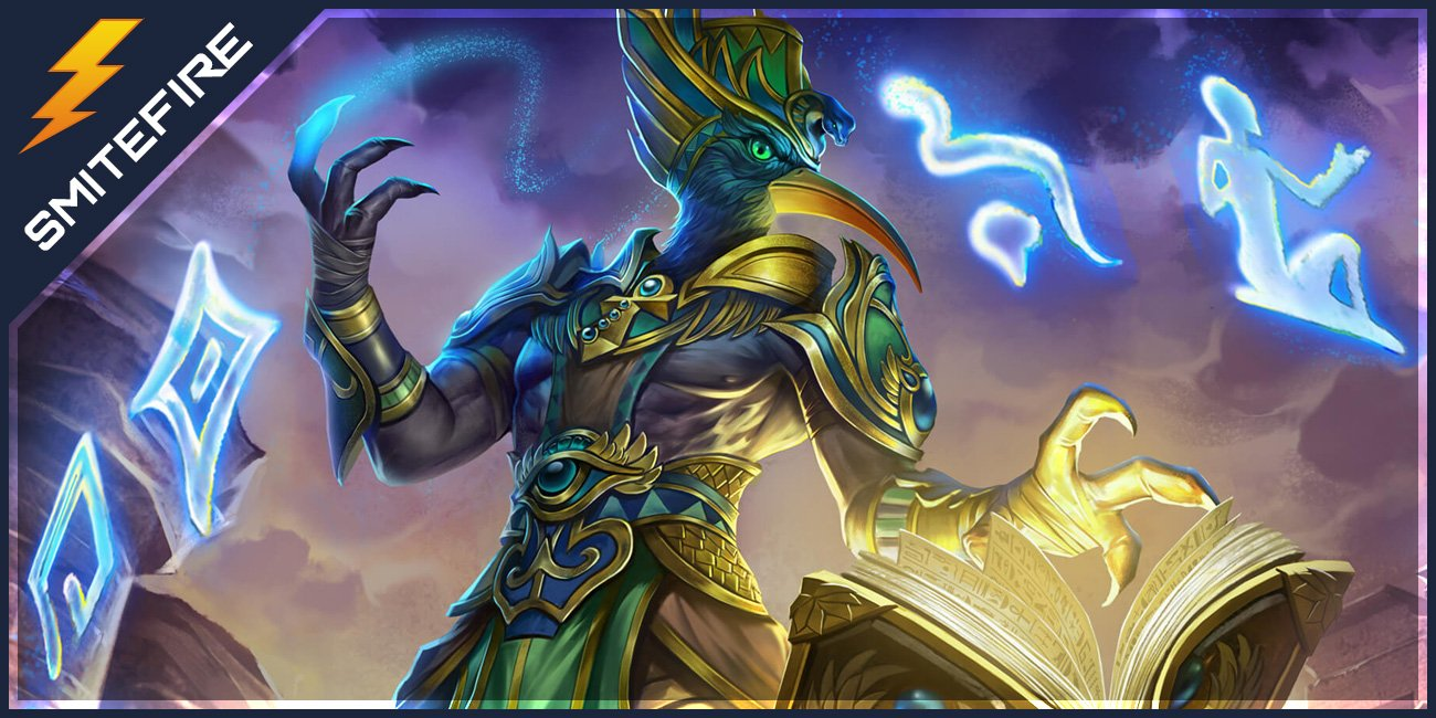 Thoth Smite Gods Guides On Smitefire
